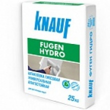 Шпаклевка 'Фуген Гидро',25 кг Knauf