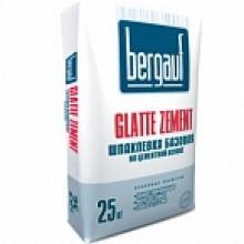 Базовая шпатлёвка цементная Bergauf Glatte Zement 25 кг (56 шт./под.)