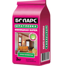 Боларс Шпатлевка финишная SUPER 3 кг
