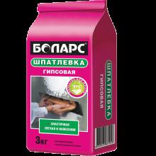 Боларс Шпатлевка гипсовая 3 кг