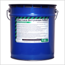 Мастика холодная битумно-полимерная 16 кг