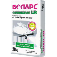 Боларс Шпатлевка финишная БОЛАРС LR  20 кг